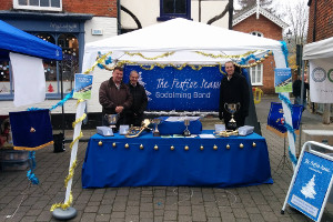 Our Festive Season (CD) stall on town day
