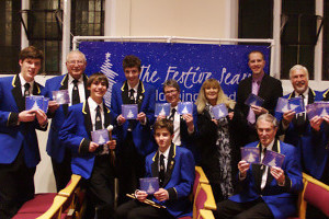 Launch of The Festive Season (CD) at a concert in Cranleigh