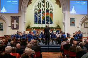 Godalming Band at the Christmas concert