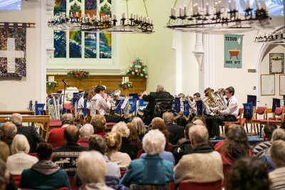 Godalming Youth Band in concert